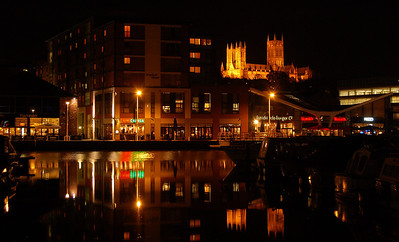 24.04.13 - Later..............  Lincoln by night