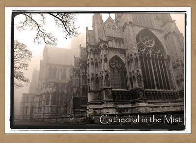 Lincoln Cathedral in the November Mist