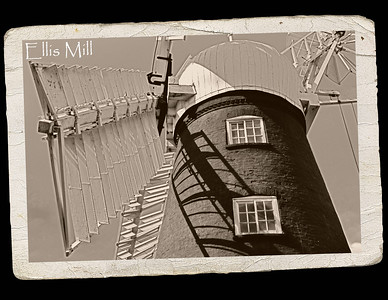 02.05.15 - Ellis Mill  I've featured this old windmill before, but not for a while. It is the last remaining working mill in Lincoln and is open to the public for free tours at weekends, They even sell flour that they mill there when wind conditions are favourable. There used to be a line of these windmills on the ridge edge to catch the prevailing westerly wind, shame this is the last of them.