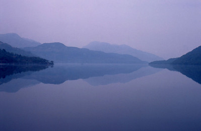 Perfect reflections in Loch Lomond
