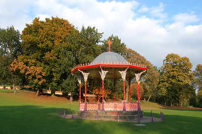 The Arboretum bandstand. The Arboretum was created by Victorian businessmen, who had a penchant for collecting exotic trees from all over the world. At the turn of the Millennium it was restored to it's former glory after years of neglect.
